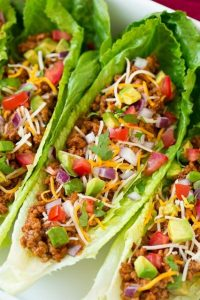 Perfect Healthy Lettuce Wrapped Fish Tacos