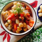 Protein Filled Chickpea Salad