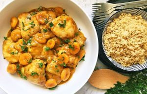 Protein Packed Apricot Chicken