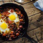 Protein Packed Chorizo Egg Skillet