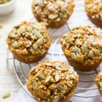 Protein Packed Cranberry Quinoa Mini Muffins