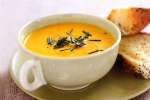 Protein Packed Creamy Carrot Soup