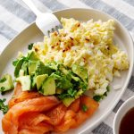 Protein Packed Salmon and Broccoli Scramble