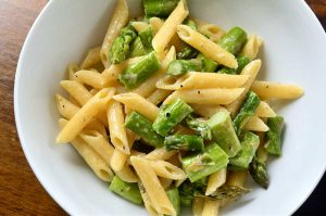 Quick & Easy Roasted Asparagus Pasta