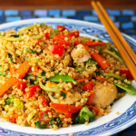 Quick and Easy Chicken Quinoa Stir Fry