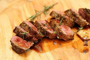 Refreshing Healthy Milanese Steak Grill