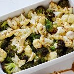 Simple Roasted Broccoli & Cauliflower
