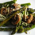 Vegetable Filled Lime-Spiked Asparagus