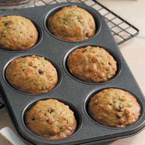 Vitamin Filled Zucchini Muffins