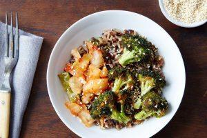 Wild Rice, Chicken and Veggie Bowl