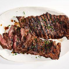 Sweet Teriyaki Bison Steaks