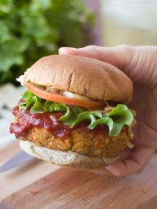 Tasty Tangy Chickpea Burger