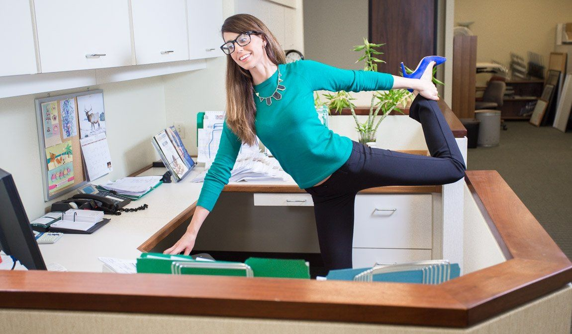 Stretching at the Workplace! Mike's Top 5 stretches to Be Done at Your Desk