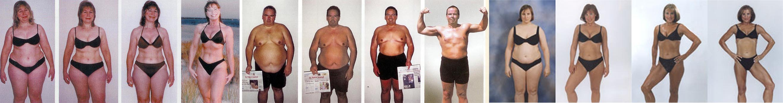 Multiple transformations in Rocky-Hill CT Personal Training